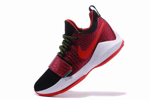 Nike Paul George Shoes PG 1 Red Black