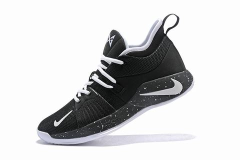 Nike PG 2 black and white logo