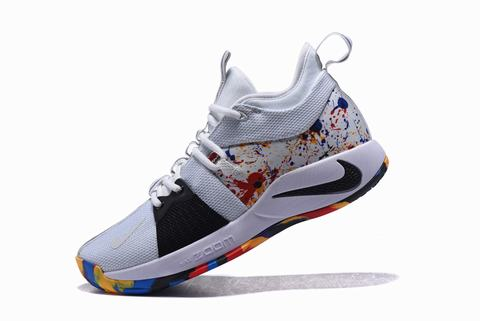Nike PG 2 multiple colors and white black