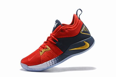 Nike PG 2 red and blue