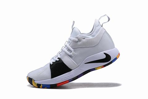 Nike PG 2 white multiple colors