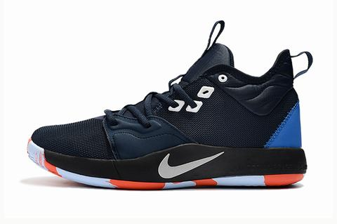 Nike PG 3 dark blue orange