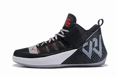 Westbrook 2 Jordan Why Not Zer0.2 black white grey