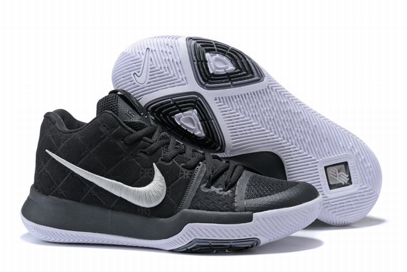 New Nike Kyire 3 Black White