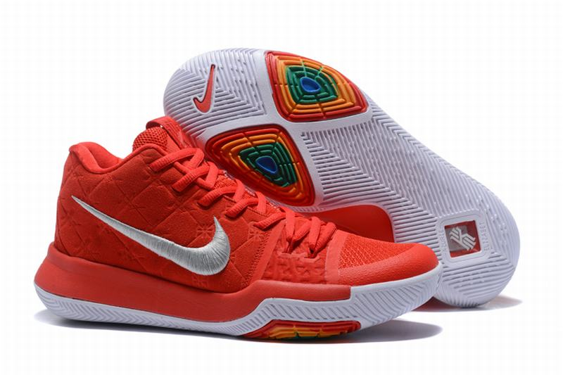 New Nike Kyire 3 Red White