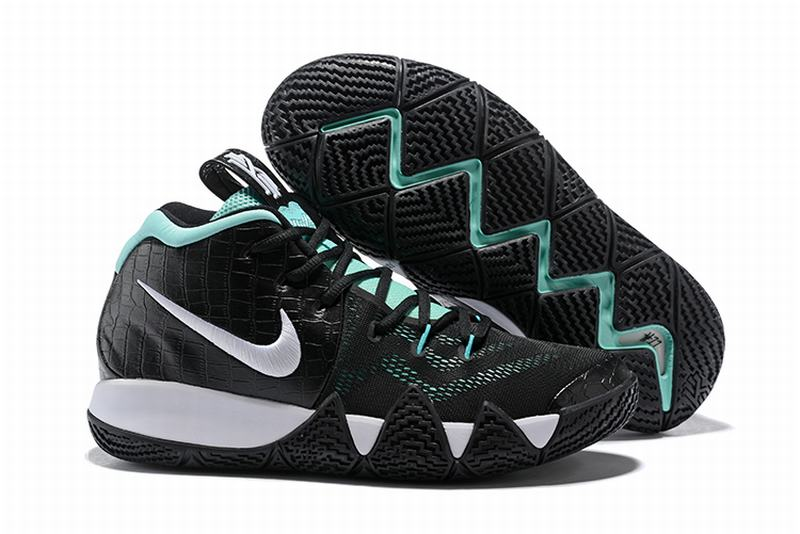 New Nike Kyire 4 Black Mint Green