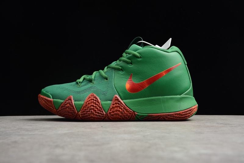 New Nike Kyire 4 Green Orange