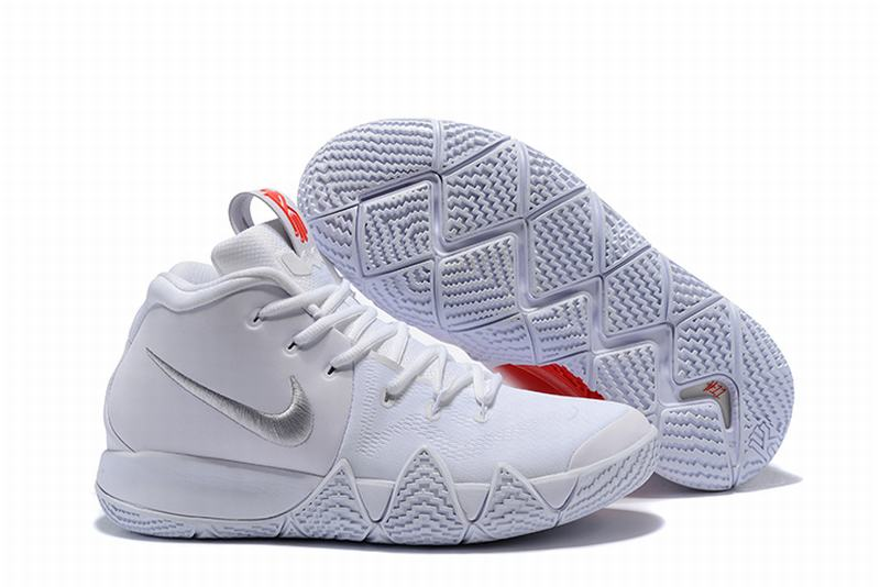 New Nike Kyire 4 White Red Love