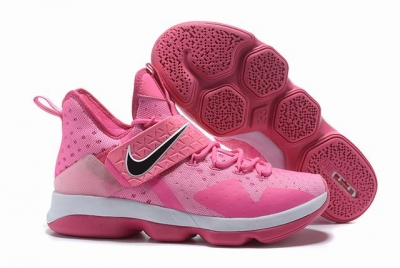 Nike Lebron James 14 Shoes Pink