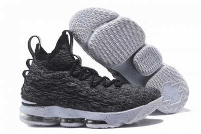 Nike Lebron James 15 Air Cushion Shoes Grey Black White