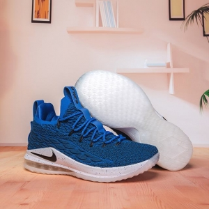 Nike Lebron James 15 Air Cushion Shoes Low Royal Blue Black