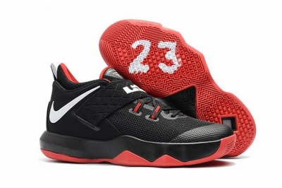 Nike Lebron James Ambassador 10 Shoes Black Red White
