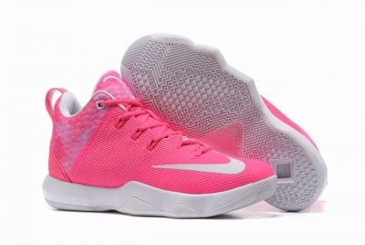 Nike Lebron James Ambassador 9 Shoes Pink White