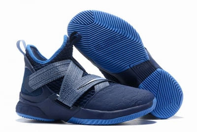 Nike Lebron James Soldier 12 Shoes Marine Theme
