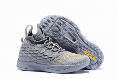Nike Lebron James Witness 3 Shoes High Grey Gold