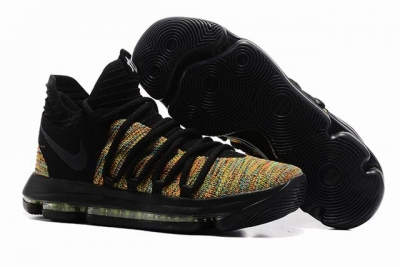 Nike KD 10 Shoes Black Colors