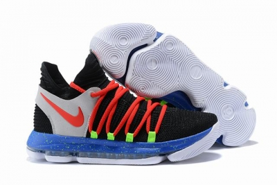 Nike KD 10 Shoes Black Orange