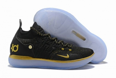 Nike KD 11 Shoes Black Gold