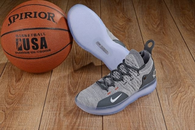 Nike KD 11 Shoes Cool Grey