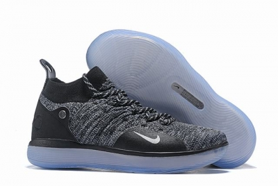 Nike KD 11 Shoes Limited Edition Black White