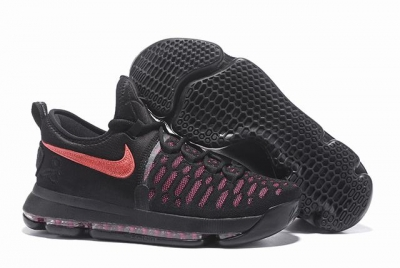 Nike KD 9 Shoes Black Red