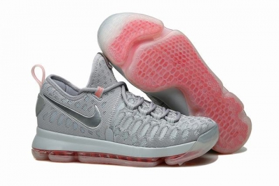 Nike KD 9 Shoes Wolf Grey