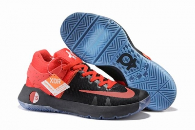 Nike KD Trey 5 Shoes Black Red Red
