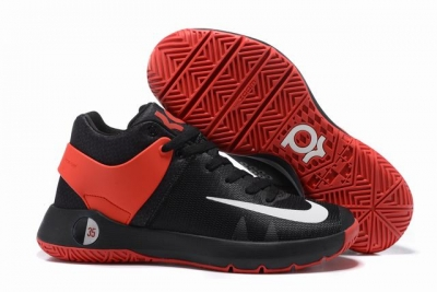 Nike KD Trey 5 Shoes Black Red White
