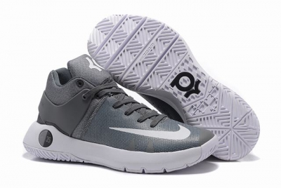 Nike KD Trey 5 Shoes Charcoal Grey White