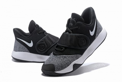 Nike KD Trey 5 VI Shoes Royal Grey Black White