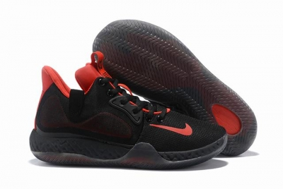 Nike KD Trey 6 Shoes Black Red
