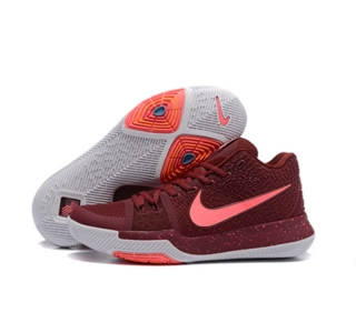 Nike Kyrie Irving Shoes 3 red white