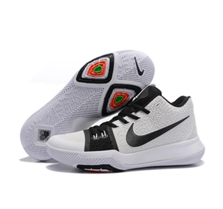 Nike Kyrie Irving Shoes 3 white black