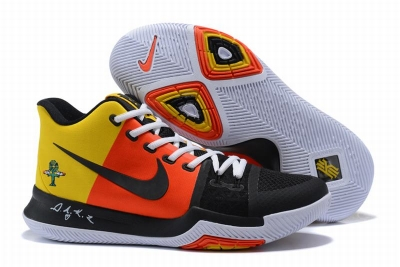 New Nike Kyire 3 Extraterrestre Orange Yellow Black White