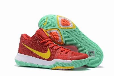 New Nike Kyire 3 Red Yellow