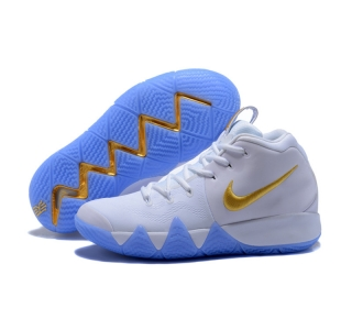 New Nike Kyire 4 White Gold