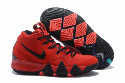 New Nike Kyire 4 Red Black Black-logo