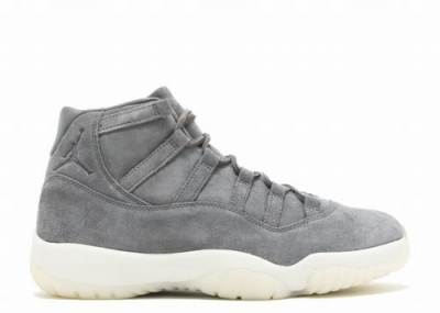 Air Jordan 11 Retro Prem Grey Suede