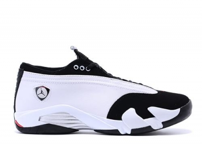 Air Jordan 14 Retro Low Black Toe