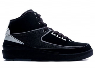 Air Jordan 2 Retro Black Chrome