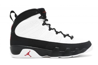 Air Jordan 9 White Black Red 2016