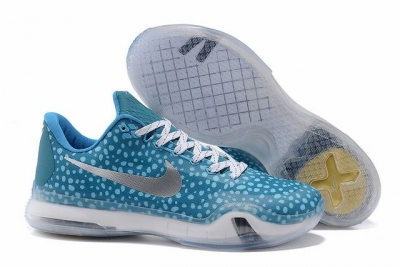 Kobe 10 Shoes Low Black Mamba Blue