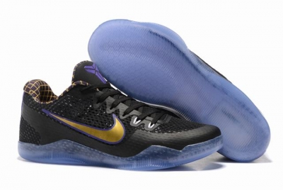 Kobe 11 Shoes Classic Black Gold