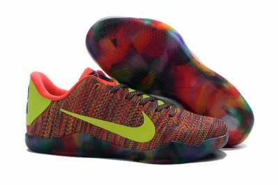 Kobe 11 Shoes Rainbow Yellow