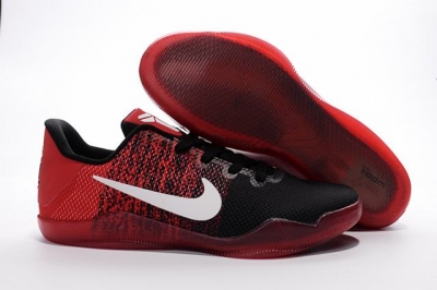 Kobe 11 Shoes Red Black White