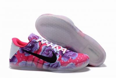Kobe 11 Shoes Rose Red