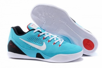 Kobe 9 Shoes Low Canal Blue
