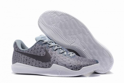 Nike Kobe 12 Shoes Wolf Grey Black