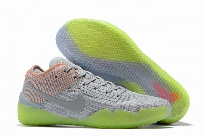 Nike Kobe 360 Shoes Grey Green Colors