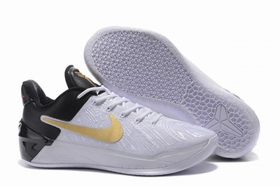 Nike Kobe AD 12 Air Cushion Shoes BHM White Black